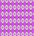 patterns geometric diamond purple vector image