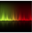 abstract equalizer background yellow-red wave vector image