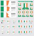 SET Ireland vector image