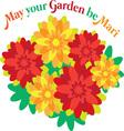 A Mari Garden vector image