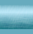 water surface with wave and falling rain vector image