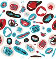 Pattern kitchen vector image