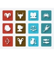 astrological signs set vector image