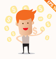 Cartoon business man - - EPS10 vector image