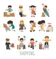 shopping eps10 format vector image