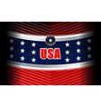 usa modern backgrounds style vector image