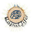 Rapid life vector image