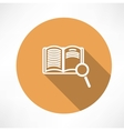Sear The Book icon vector image