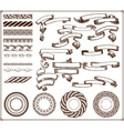 creation kit 29 elements vector image vector image