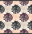 autumn seamless pattern textures hand drawn vector image