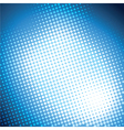 shiny blue halftone background vector image