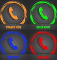Phone sign icon Support symbol Call center vector image