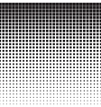 Squares Halftone Pattern vector image