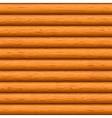 wooden wall vector image vector image