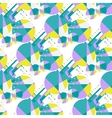 Modern African seamless pattern vector image