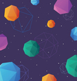 Space background abstract vector image