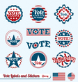 Vote Labels vector image