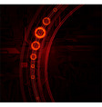 technology theme vector banner vector image vector image