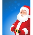 christmas santa claus vector image