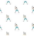 professional baseball player pattern seamless vector image