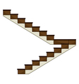 A staircase vector image
