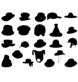 Wallets collection silhouette vector image vector image