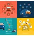 Auto Service Design Concept vector image