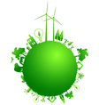 green earth concept vector image