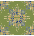 indian floral pattern vector image