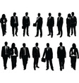 business man collection vector image