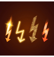 Lightning Set vector image