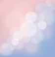 Abstract blurred bokeh background vector image