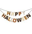 Halloween banner vector image