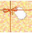 small card background vector image