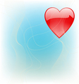love theme vector image vector image