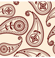 Vector seamless paisley patter vector image
