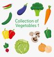 Vegetables 01 vector image