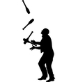 juggler vector image vector image