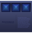 Abstract Background with Tiles vector image vector image