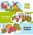 Agriculture Banner Set vector image