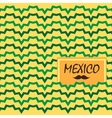 Ethnic mexican background vector image vector image