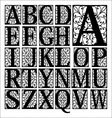 calligraphy lettering vector image