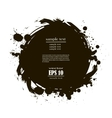 banner spot of black paint vector image vector image
