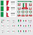 SET Italy vector image