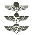 Army badges-1 vector image vector image