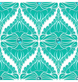 Vintage seamless pattern with gemstones vector image