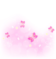 Abstract nature background with butterfly for vector image