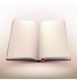Open Notebook 3d Design vector image
