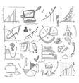 business idea creative startup financial vector image