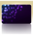 Beautiful gift card EPS 8 vector image vector image